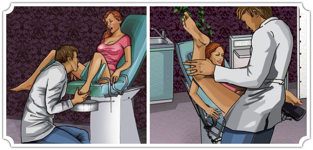 Игры врач по сексу, порно девушка сунула в жопу кулак подружке