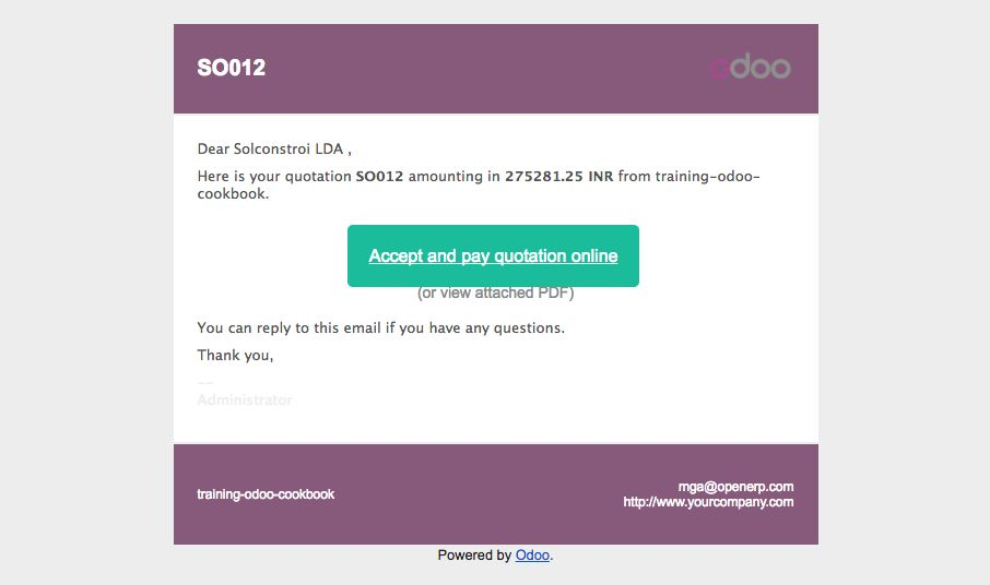 How to do it    - Odoo 10 Implementation Cookbook: Explore the