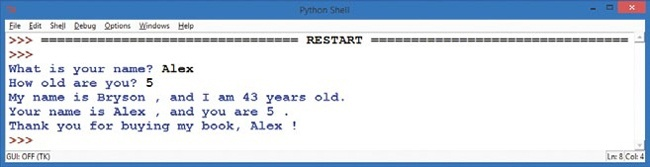 3  Numbers and Variables: Python Does the Math - Teach Your Kids to